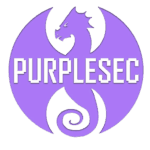 Purplesec logo transparent