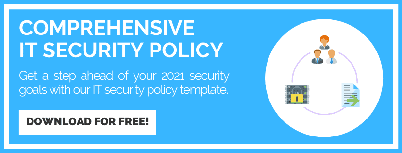 IT Security Policy Template download